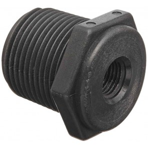 "Pipe Reducer Bushing Fitting - 1 1/4"" MPT x 1"" FPT"