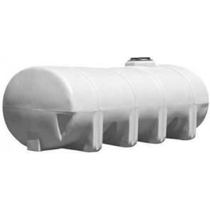 1635 Gallon Elliptical Leg Tank with Bands
