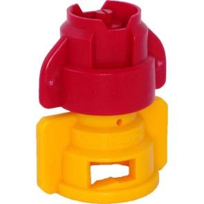 TurboDrop XL Red/Yellow Ceramic-Polyacetal-EPDM Medium Pressure Spray Nozzle
