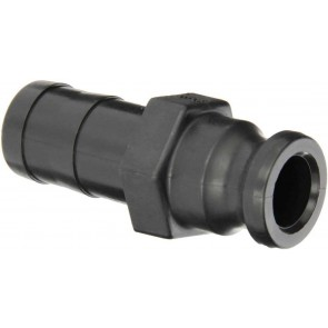 "Cam Action Adapter Fitting - 1 1/4"" Male Adapter x 1 1/4"" Hose Shank"