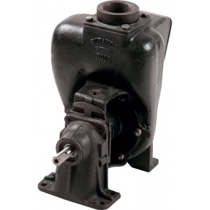 "Pedestal Cast Iron Transfer Pump with 3"" NPT Inlet x 3"" NPT Outlet"