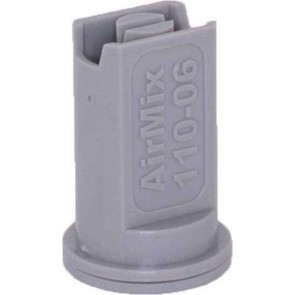Airmix Gray Polyacetal-EPDM Low Pressure Spray Nozzle