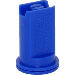 Airmix Blue Polyacetal-EPDM Low Pressure Spray Nozzle
