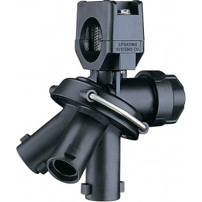 """1/2"""" Pipe 3 Outlet Multiple Nozzle Body Assembly for Wet Applications"""
