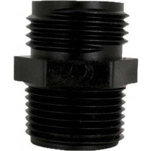 "Garden Hose Adapter Fitting - 3/4"" MGHT x 3/8"" MPT"