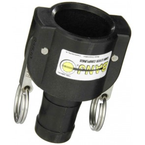 "Cam Action Coupler Fitting - 1"" Female Coupler x 1"" Hose Shank"