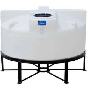 850 Gallon Cone Bottom Tank w/ Stand