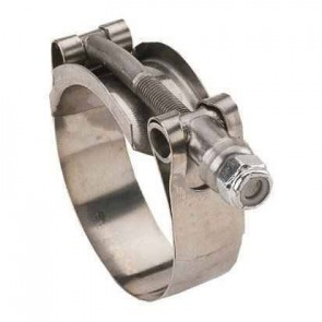 "Hose Clamp - 4"" MPT x 4"" MPT"