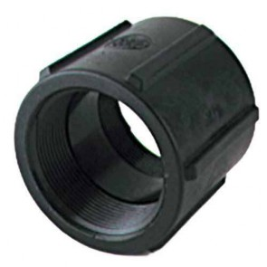 "Pipe Coupler Fitting - 1 1/4"" FPT x 1 1/4"" FPT"