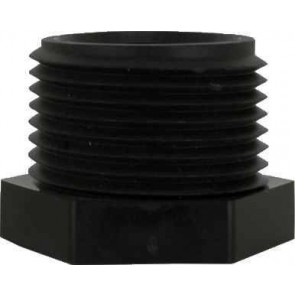 "Pipe Hex Plug Fitting - 3/8"" MPT"