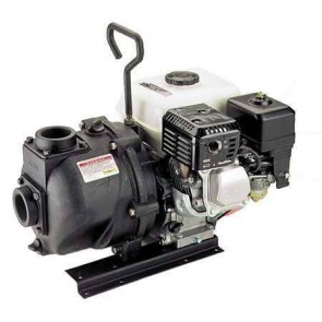 "5.5 HP Honda Gas Engine Cast Iron Pump with 2"" NPT"