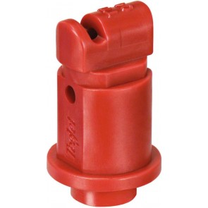 Turbo TeeJet Induction Red Acetal Polymer Flat Spray Tip Nozzle