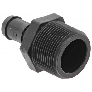 "Hose Barb Fitting - 1 1/4"" MPT x 3/4"" Hose Barb"