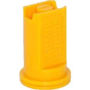 Airmix Yellow Polyacetal-EPDM Low Pressure Spray Nozzle