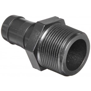 "Hose Barb Fitting - 1 1/4"" MPT x 1"" Hose Barb"