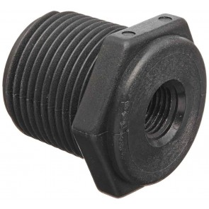 "Pipe Reducer Bushing Fitting - 3/4"" MPT x 3/8"" FPT"