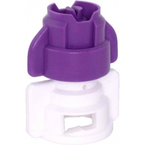 TurboDrop XL Purple/White Polyacetal-EPDM Medium Pressure Spray Nozzle