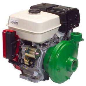 "7.9 HP Honda Gas Engine Poly Pump with 2"" Suction x 1-1/2"" Discharge"