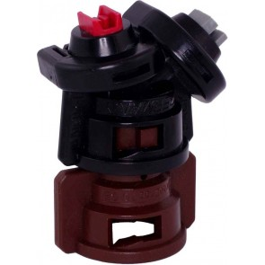 TurboDrop Black/Brown Polyacetal-EPDM Medium Pressure DualFan Spray Nozzle