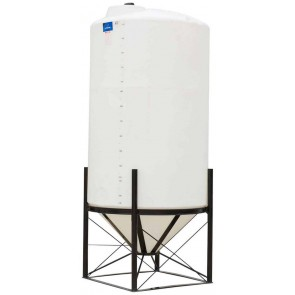 1490 Gallon Cone Bottom Tank w/ Stand