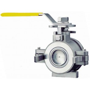 "1 1/2"" Male Adpater Stainless Steel Ball Valve"