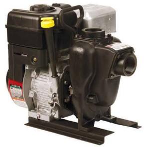 """6.5 HP Briggs & Stratton Gas Engine Cast Iron Pump with 2"""" NPT"""