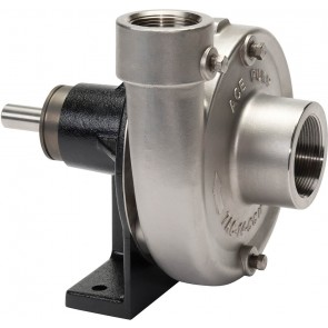 "Belt Driven 316 Stainless Steel Pump with 2"" Suction x 1-1/2"" Discharge"