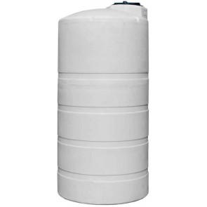 850 Gallon Plastic Vertical Storage Tank