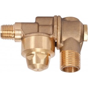 "3/8"" MPT 1 Outlet Brass Rollover"