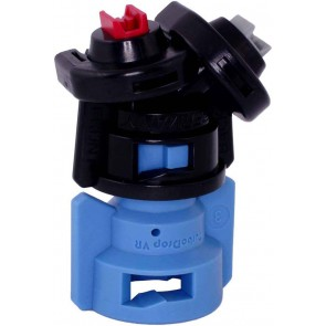TurboDrop Black/Blue Polyacetal-SS-EPDM Variable Rate Spray Nozzle