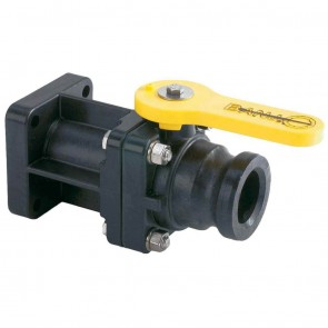 "2"" Male QDC Polypropylene Ball Valve"