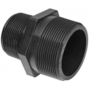 "Pipe Reducer Nipple Fitting - 1 1/2"" MPT x 1"" MPT"