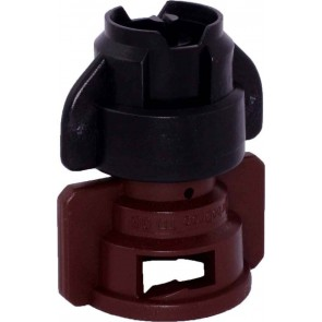TurboDrop XL Black/Brown Polyacetal-EPDM Medium Pressure Spray Nozzle