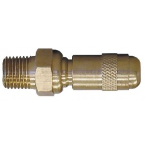 "Brass Adjustable Nozzle - 1/4"" MPT"