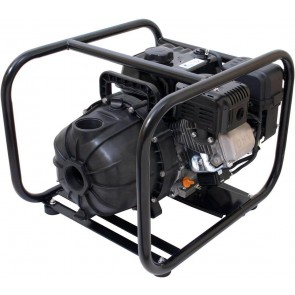 "6.5 HP PowerPro w/ Frame Gas Poly Transfer Pump with 2"" NPT Inlet x 2"" NPT Outlet"