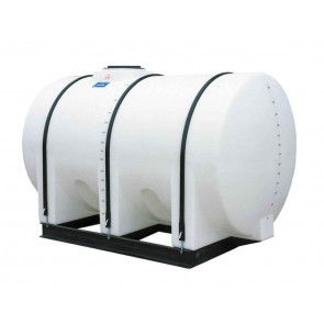 1300 Gallon Horizontal Leg Tank with Bands