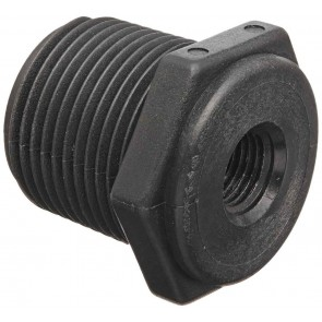 "Pipe Reducer Bushing Fitting - 1/2"" MPT x 1/8"" FPT"