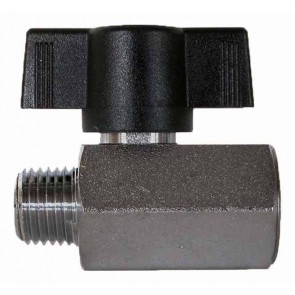 "1/4"" FPT Chrome-Brass Ball Valve"