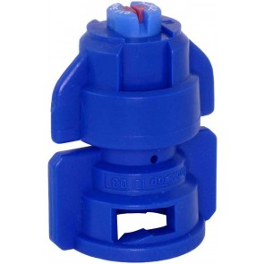 TurboDrop Blue Ceramic-Polyacetal-EPDM High Pressure Full Ceramic TwinFan Spray Nozzle