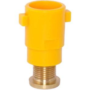 TurboDrop Venturi Orange Polyacetal-Ceramic High Pressure Universal Ceramic Spray Nozzle
