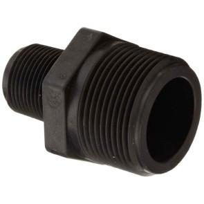 "Pipe Reducer Nipple Fitting - 1 1/4"" MPT x 3/4"" MPT"