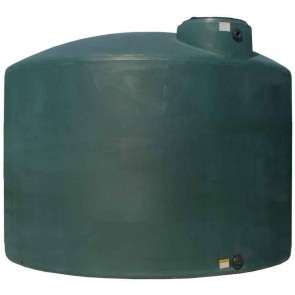 2500 Gallon Plastic Water Storage Tank