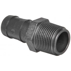 "Hose Barb Fitting - 1"" MPT x 1"" Hose Barb"