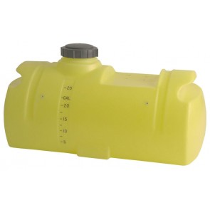 25 Gallon Spot Sprayer Tank with Sump