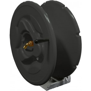 "Large Hose Reel With 100' Of 3/4"" Hose"