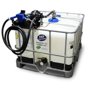 135 Gallon DEF IBC Tote with Easy Caddy Dura-Pump