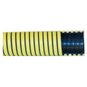 """3"""" Black/Yellow Fertilizer Suction Hose / ft"""