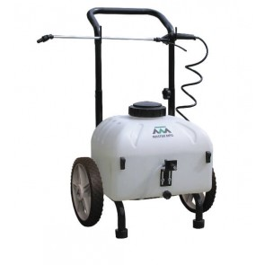 9 Gallon Master MFG Rechargeable Cart Spot Sprayer