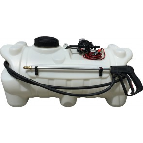 25 Gallon Spot Sprayer w/ 2.2 GPM Everflo Pump & Pistol Spray Gun