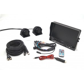 "10"" Monitor & Side View Dual Camera System"